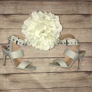 Joe's Ankle Strap, Open Sandals with Heel
